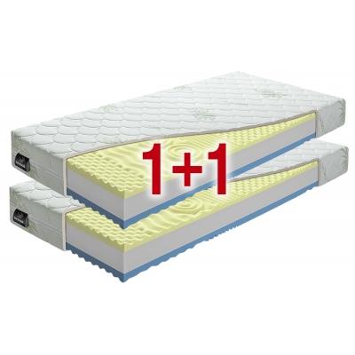 VISCO PLUS 1+1 partnerský matrac z lenivej peny