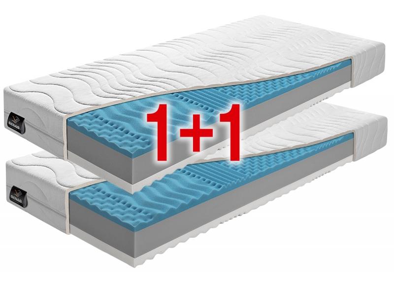ZERO 1+1 sendvičové matrace